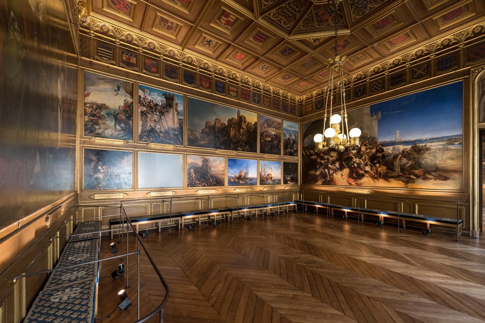 Château de Versailles, salles des Croisades