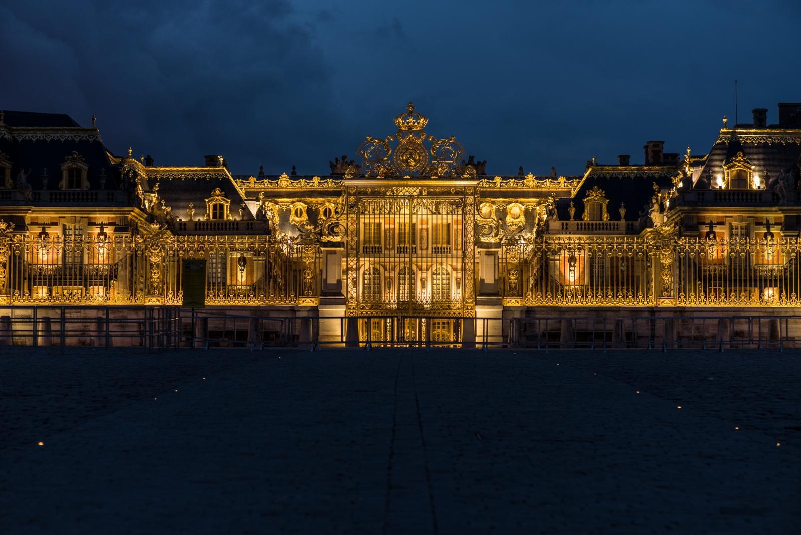 Château de Versailles de nuit (2015)