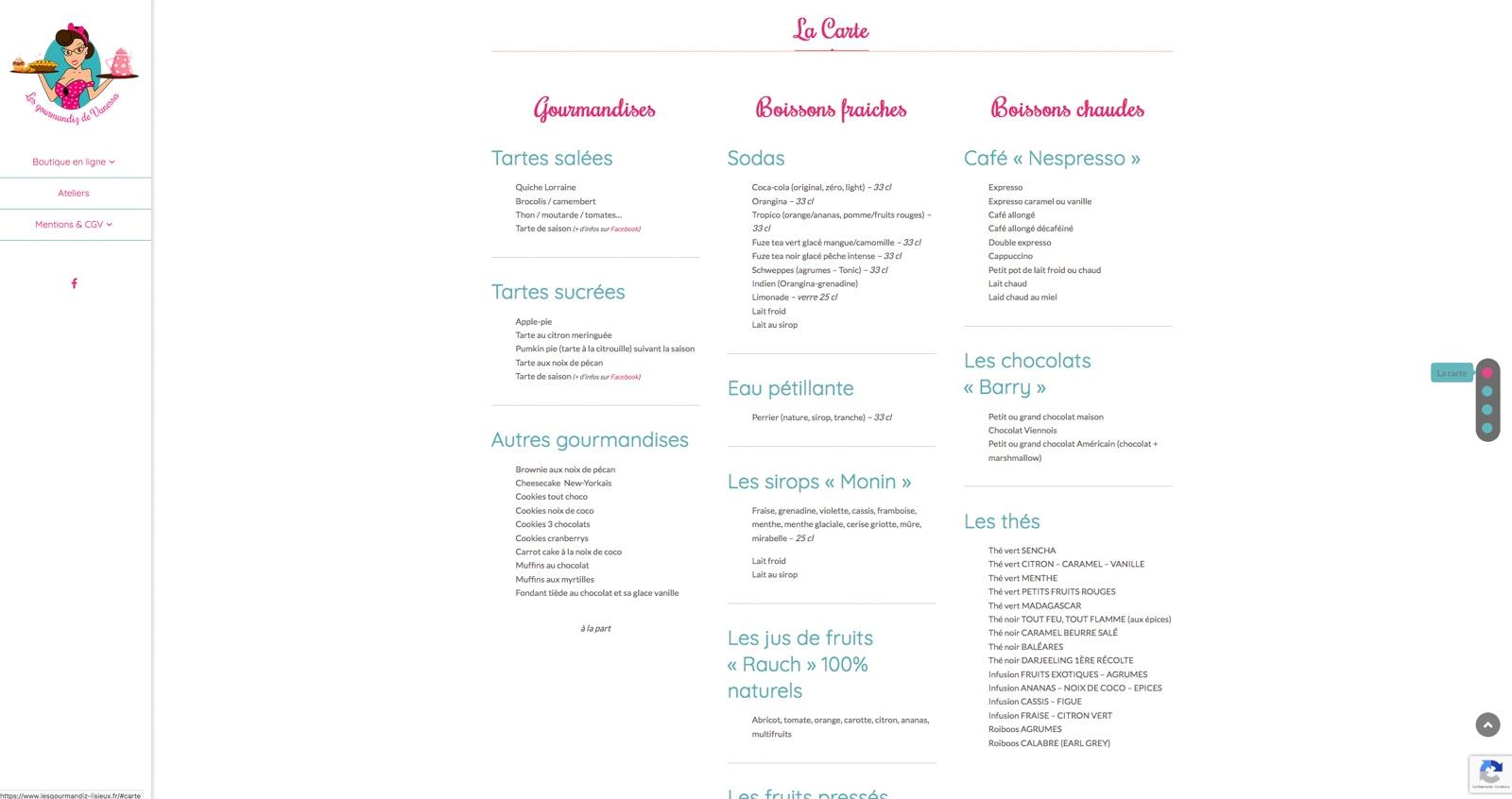 Les Gourmandiz de Vanessa (Lisieux)